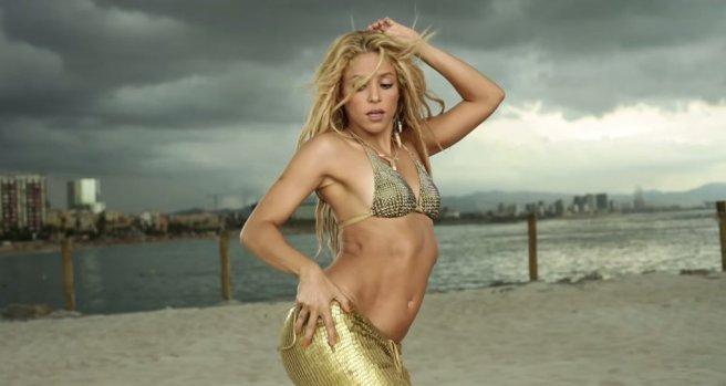 Shakira-Sexiest-Music-Videos