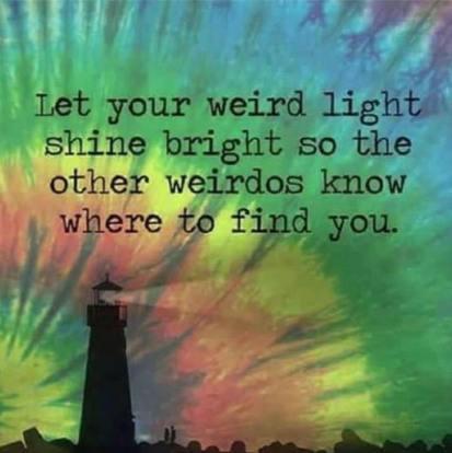 weird light